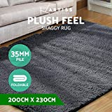 Artiss Ultra Soft Floor Carpet Large 200x230cm Anti-Slip Shaggy Area Rugs
