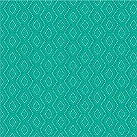 924444–親 28 x 28 Laminated Art Print ブルー L924444-0280000-AA