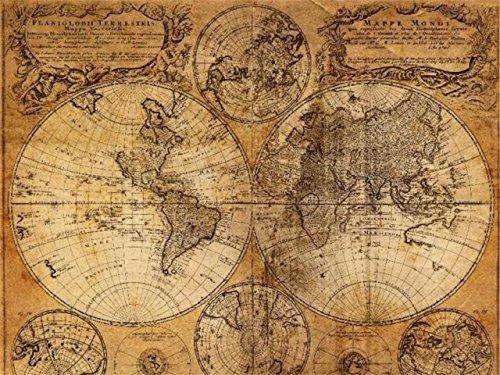(リトルスワロー) LtSw アンティーク 調 大航海 古地図 インテリア お部屋のイメージUP