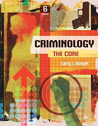 Download Criminology: The Core 130564283X