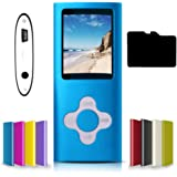 G.G.Martinsen Versatile MP3/MP4 Player with a Micro SD Card, Support Photo Viewer, Digital MP3 Player, MP4 Player, Video/Medi