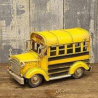 ビンテージ アメリカン スクールバス(SCHOOL BUS)ブリキカー ミニチュア ガレージ コレクション フィギュア アメリカン雑貨 アメリカ雑貨 アンティーク