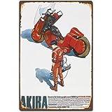 Akira Japanese Anime Manga Film Movie ティンサイン ポスター ン サイン プレート ブリキ看板 ホーム バーために