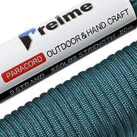 【2018年 夏モデル】 パラコード 4mm 9芯 20m 〔100本以上のパラコードから選んだ本物の1品〕 耐荷重250kg テント ロープ ガイロープ キャンプ アウトドア アクセサリー制作 preime