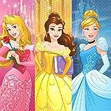 ディズニープリンセス、紙ナプキン、パーティーグッズ、誕生日、Disney Princess Lunch Napkins(16 count), Party Supplies, birthday