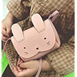 Charmly Cute Fashionable Handbag Shoulder Bags Small Coin Purse Crossbody Bags PU Leather for Children Kids Girls Toddler Bab