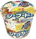 エースコック スーパーカップ1.5倍 バニラ風味のクリーミーシーフード味ラーメン 116g×12個