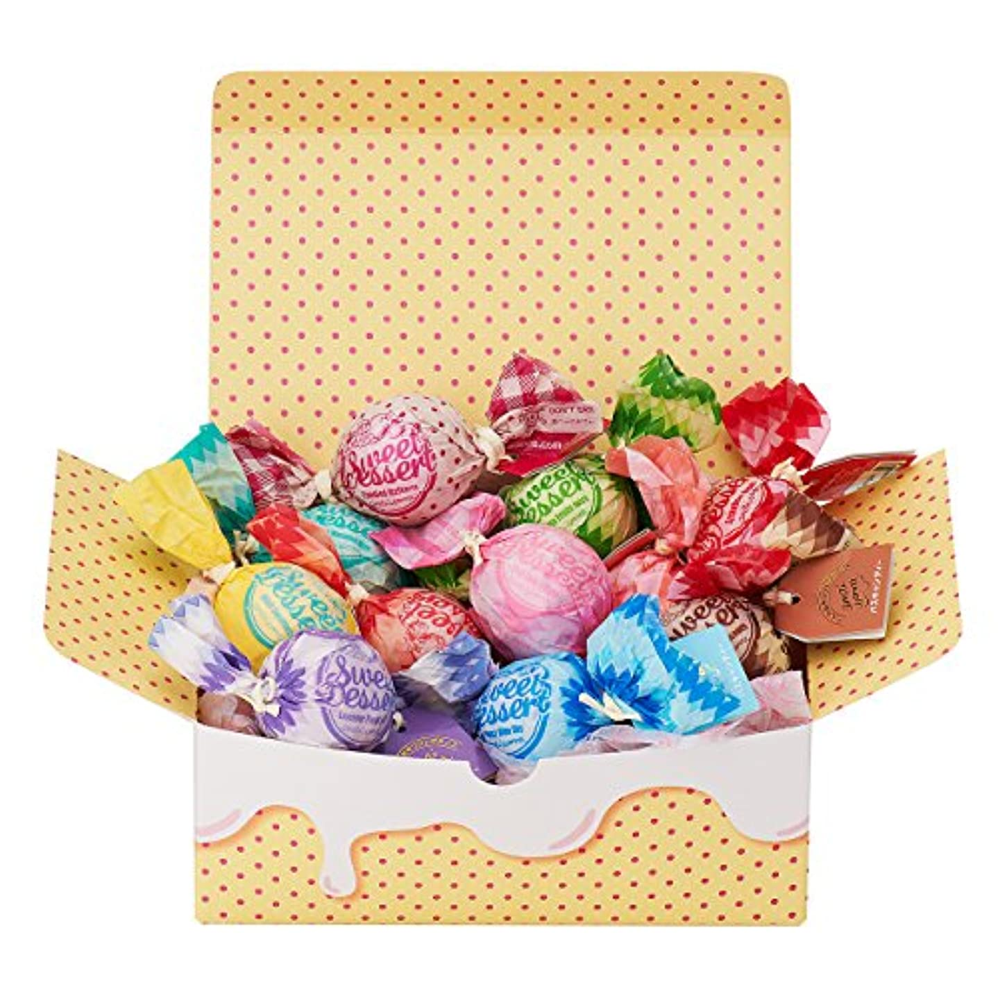 アクション他の場所正直アマイワナ 11粒のしあわせ(箱入りバスギフト キャンディー型入浴料×11個)