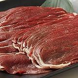 鹿肉もも肉(スライス)500g 2mm