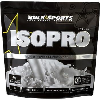 バルクスポーツ プロテイン アイソプロ 1kg ナチュラル