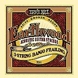 【3セット】ERNIE BALL アーニーボール 2061 Earthwood 5-STRING BANJO 5弦バンジョー弦