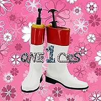 【サイズ選択可】コスプレ靴 ブーツ 12L1629 スーパー戦隊シリーズ 超新星フラッシュマン ジン レッドフラッシュ 男性26CM