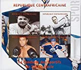 Sports Legends Ruth, Ali, Gretzky, Bobby Jones - 4 Stamp Sheet 3H-207 by United States of America [並行輸入品]