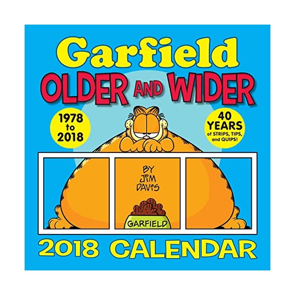 Garfield 2018 Wall Cale...の紹介画像1