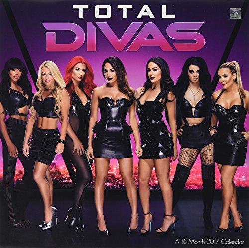Total Divas WWE 2017 Calendar