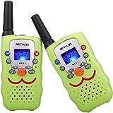 Retevis RT32 Kids Walkie Talkies VOX Scan Call Alarm Monitor 2 Way Radio Handheld Walkie Talkieswith LED Flashlight for Birt