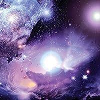 JPロンドンSQM2026PS 6フィート幅で6フィート幅でピールとスティック取り外し可能な壁デカールステッカー壁画宇宙空間星雲