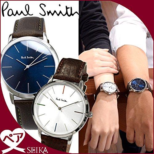 (ペア価格)ポールスミス PAUL SMITH P10091 メンズ P10100 レディース 時計 腕時計 ペアウォッチ ユニ レザー [並行輸入品]