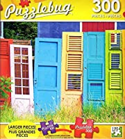 Collections of Colourful old Wooden Doors - 300 Large Pieces Jigsaw Puzzle - Puzzlebug - p 003