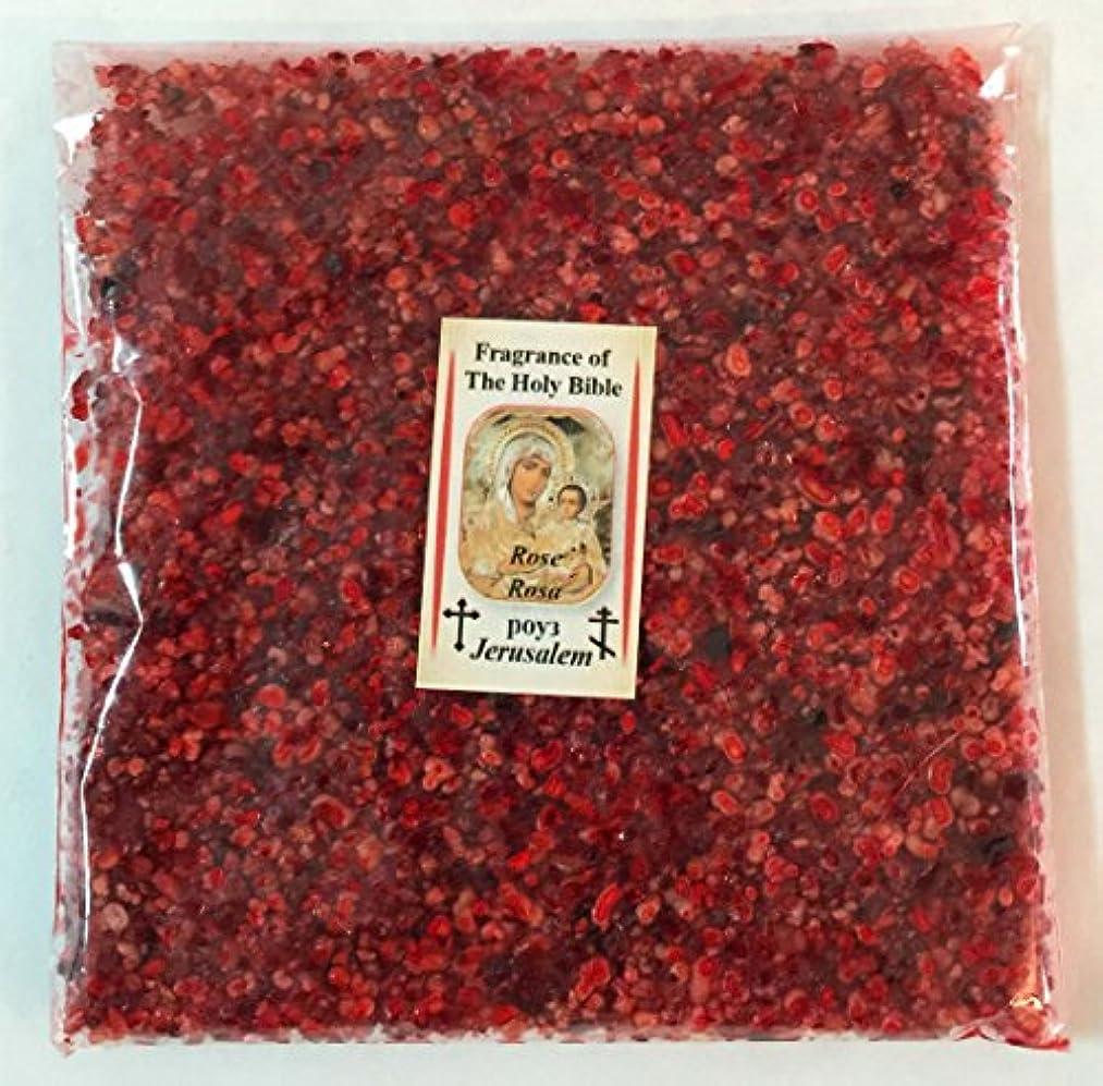 性格プレゼンター陸軍Holy Land Natural Rose IncenseエルサレムFragrance 3.5 Oz 100 gr