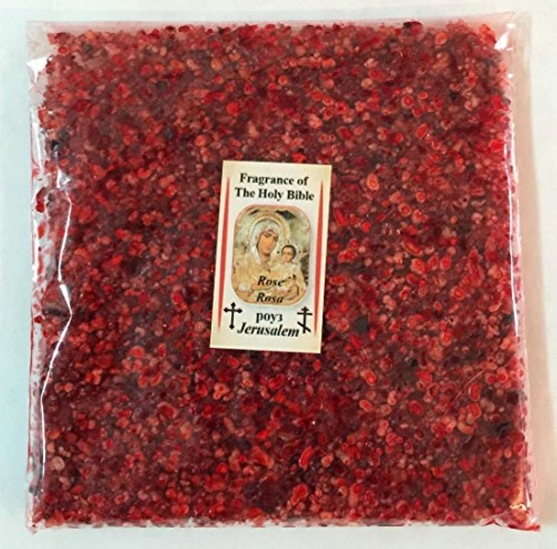 呼び出すさわやか怖いHoly Land Natural Rose IncenseエルサレムFragrance 3.5 Oz 100 gr