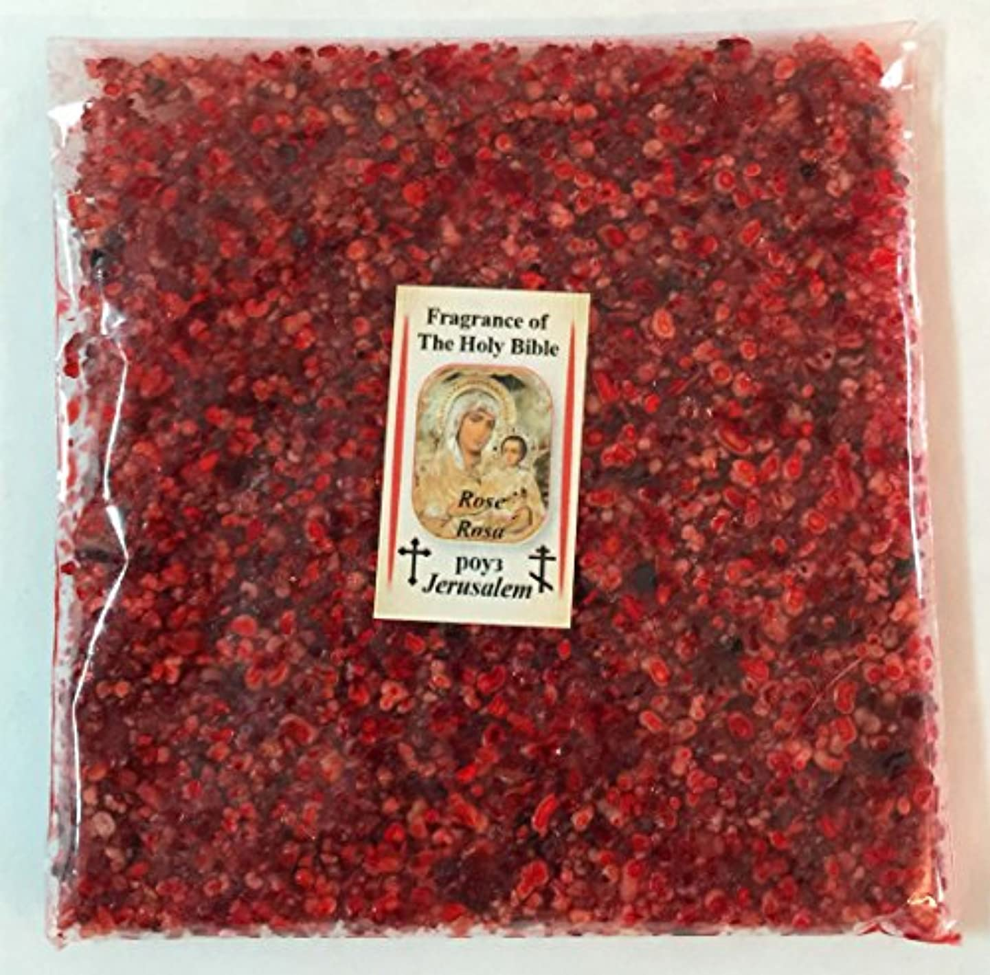 支援するグローバル嫉妬Holy Land Natural Rose IncenseエルサレムFragrance 3.5 Oz 100 gr