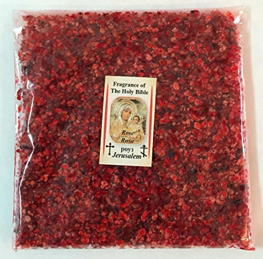 階段クラウン豊富にHoly Land Natural Rose IncenseエルサレムFragrance 3.5 Oz 100 gr