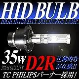 IMPRESSION HID D2R シェード付き 35W 純正交換 D2 バーナー 4300K SOARER ソアラ H13.4~UZZ40 ヘッド