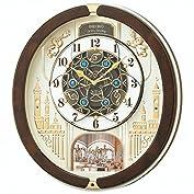 セイコー クロック 掛け時計 電波 アナログ からくり トリプルセレクション メロディ 回転飾り 薄...