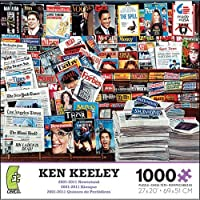 Ken Keeley 2001を2011 Newsstand 1000 Pieceパズル