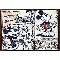 丸眞 タオルギフト  ミッキー&ミニー コミックミッキー&ミニー DS-3415 ハンドタオル1P/フェイスタオル1Pセット 2275004500