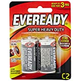 Eveready Super Heavy Duty 1235BP-2 C, 2ct