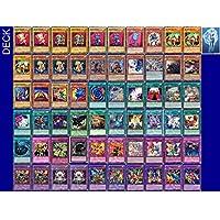 YuGiOh Chazz PrincetonデッキとExclusive Phantasmゲームトークン+デッキボックス& 100袖