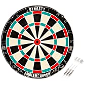 Dynasty (ダイナスティー) ダーツ ブラス・ボード・ダーツケース EMBLEM Queen Type-K WIRELESS レッド×グリーン 05-05-003