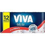 Viva Paper Towel, Printed 12 Rolls