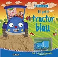 El petit tractor blau