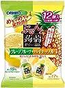 オリヒロプランデュ ぷるんと蒟蒻ゼリーパウチ グレープフルーツ パイナップル 20gx12個×6袋