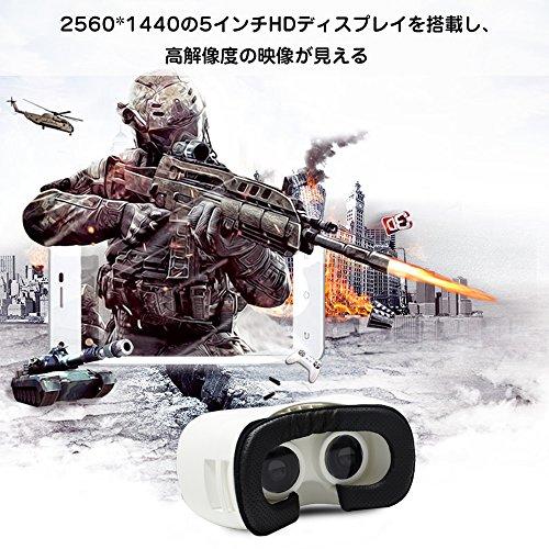 VRゴーグル ヘッドマウントディスプレイ ホームシアター Bestface 3Dゴーグル ヘッドセット バーチャルリアリティ 3Dメガネ VRヘッドセット