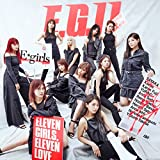 Keep on♪E-girlsのCDジャケット