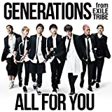 I Believe In Miracles♪GENERATIONS from EXILE TRIBEのCDジャケット
