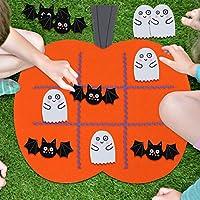 AYtAI Tic Tac Toe Games、フェルト子供教育玩具旅行ゲームパーティーハロウィンDecorations