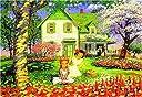 1000ピース ジグソーパズル 花の季節 (50x75cm)