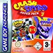 Crash and Spyro Super Pack Volume 2: Crash Nitro Kart/Spyro: Season of Flame (GBA)by Sierra UK [並行輸入品]