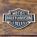 3Dステッカー 「ハーレーダビッドソン B S ロゴ」(ゴールド) /HARLEY-DAVIDSON/