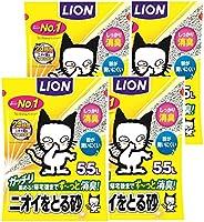 LION 獅子 去臭沙 貓砂 5.5升x4袋 (整箱售賣)