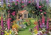 Wentworth Cottage Garden 250ピース木製Royce Mcclureジグソーパズル