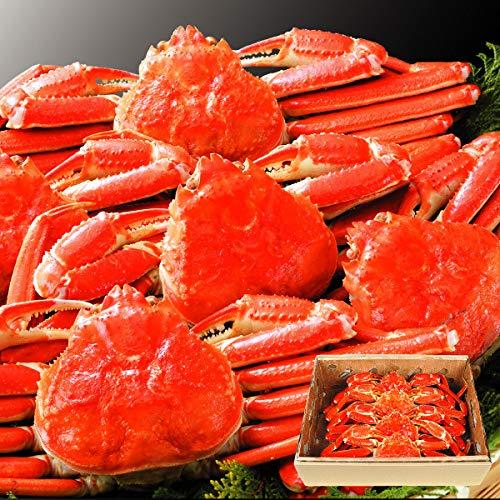 国華園 特大 ボイル ずわいがに 姿 3kg1組 かに 蟹 冷凍便