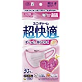 (日本製 PM2.5対応)超快適マスク プリ-ツタイプ 女性用 小さめ 30枚(unicharm)