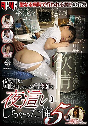 夜勤中に居眠りしている看護師を夜這いしちゃった俺5 [DVD]