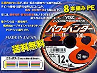 パワーハンター プログレッシブ X8 PEライン YGK よつあみ 12号